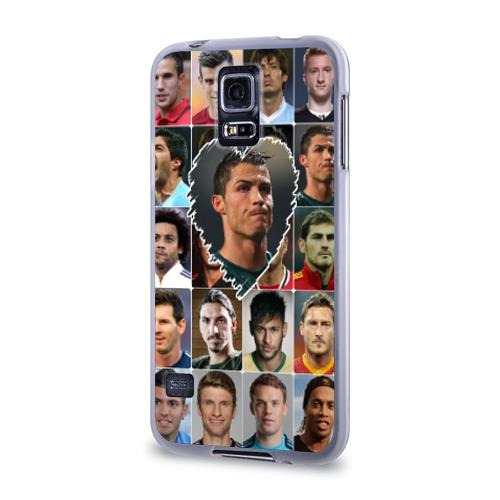 Чехол для Samsung Galaxy S5 силиконовый  Фото 03, Криштиану Роналду - лучший