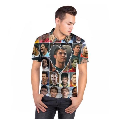 Мужская рубашка поло 3D  Фото 05, Криштиану Роналду - лучший