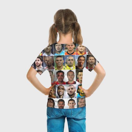 Детская футболка 3D Лионель Месси - лучший Фото 01