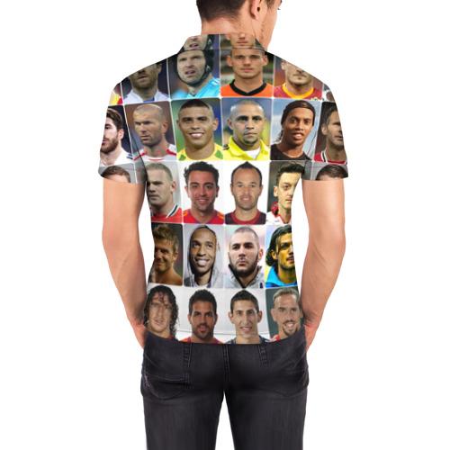 Мужская рубашка поло 3D Лионель Месси - лучший Фото 01