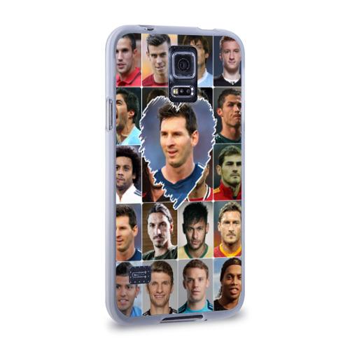 Чехол для Samsung Galaxy S5 силиконовый  Фото 02, Лионель Месси - лучший