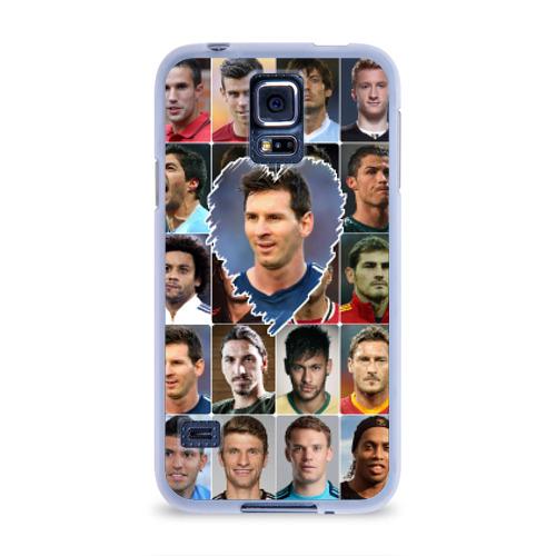 Чехол для Samsung Galaxy S5 силиконовый  Фото 01, Лионель Месси - лучший