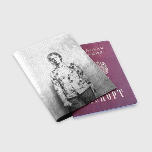 Обложка для паспорта матовая кожа  Фото 03, Кэрол
