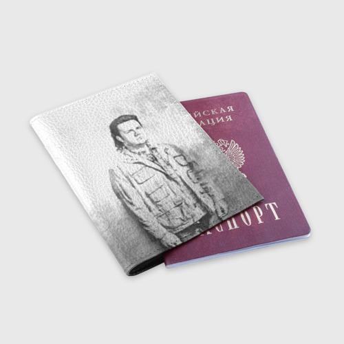 Обложка для паспорта матовая кожа  Фото 03, Юджин