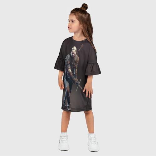 Детское платье 3D  Фото 03, Witcher 3