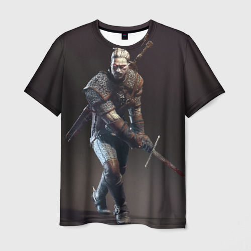 Мужская футболка 3D  Фото 01, Witcher 3