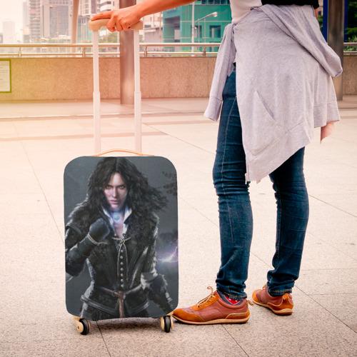 Чехол для чемодана 3D  Фото 04, Йеннифер