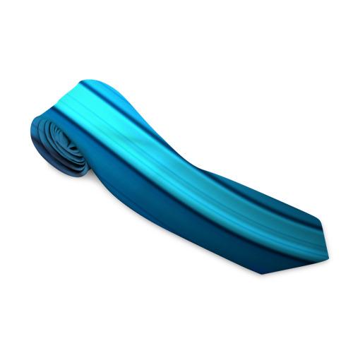 Галстук 3D Blue lines