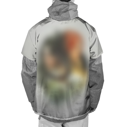 Накидка на куртку 3D  Фото 02, Ведьмак