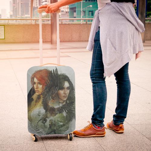 Чехол для чемодана 3D  Фото 04, Ведьмак