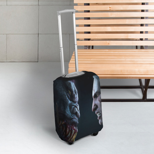 Чехол для чемодана 3D Ведьмак Фото 01