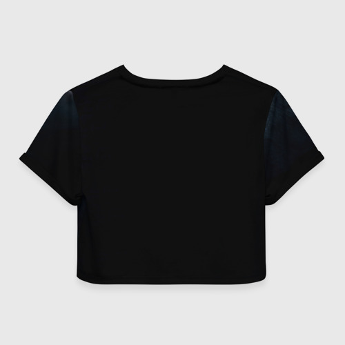 Женская футболка 3D укороченная  Фото 02, Ведьмак