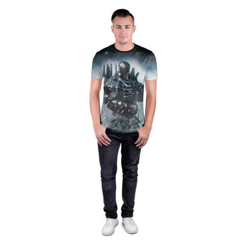 Мужская футболка 3D спортивная Wild Hunt Фото 01
