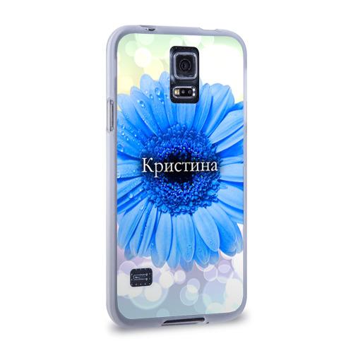 Чехол для Samsung Galaxy S5 силиконовый  Фото 02, Кристина