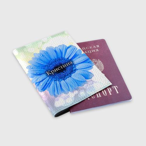Обложка для паспорта матовая кожа  Фото 03, Кристина