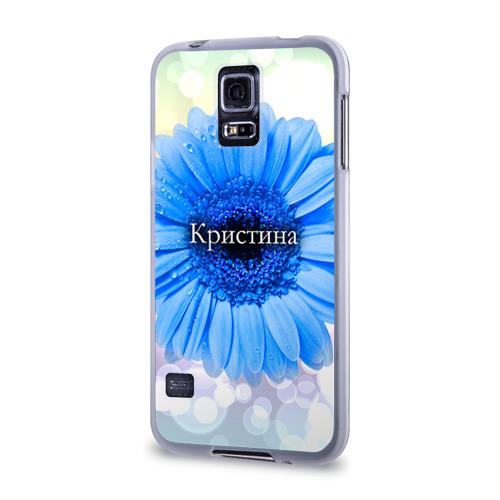 Чехол для Samsung Galaxy S5 силиконовый  Фото 03, Кристина