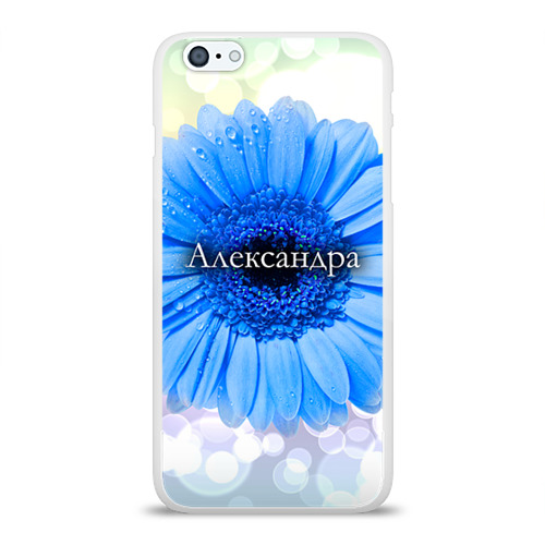 Чехол для Apple iPhone 6Plus/6SPlus силиконовый глянцевый  Фото 01, Александра