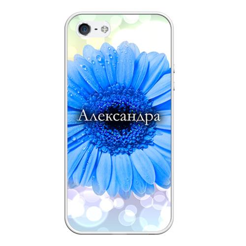 Чехол силиконовый для Телефон Apple iPhone 5/5S Александра от Всемайки