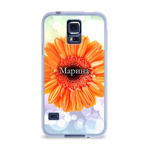 Чехол для Samsung Galaxy S5 силиконовый  Фото 01, Марина