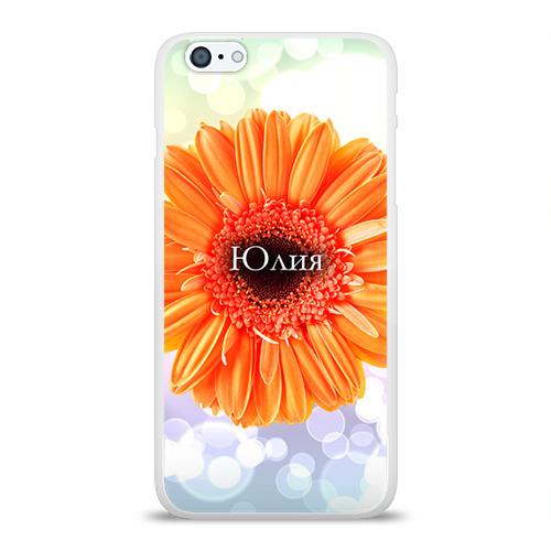 Чехол для Apple iPhone 6Plus/6SPlus силиконовый глянцевый  Фото 01, Юлия