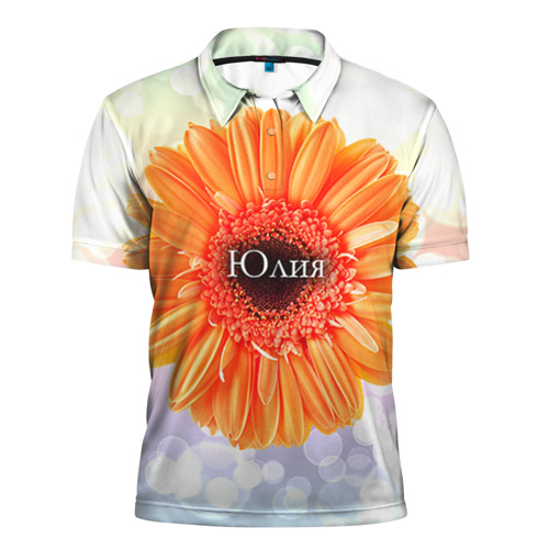 Мужская рубашка поло 3D Юлия