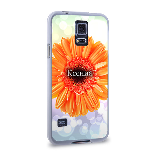 Чехол для Samsung Galaxy S5 силиконовый  Фото 02, Ксения