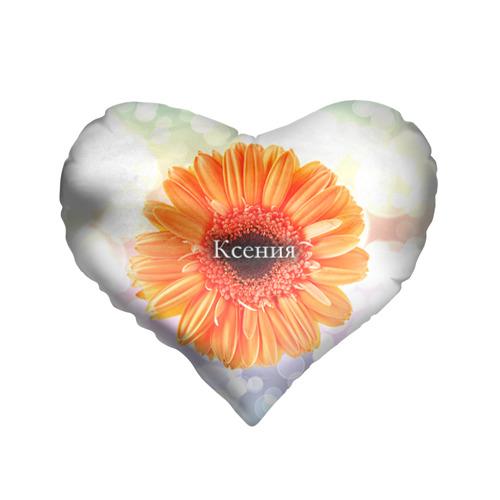 Подушка 3D сердце  Фото 01, Ксения