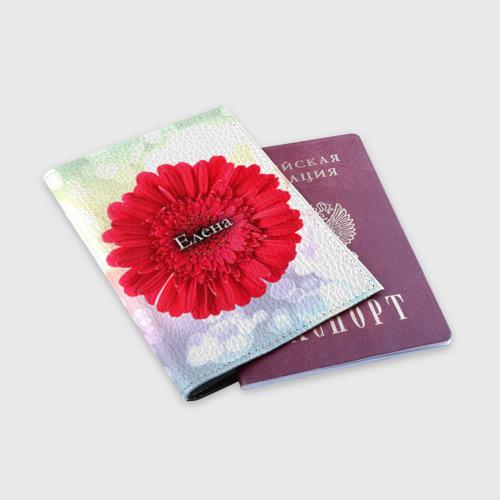 Обложка для паспорта матовая кожа  Фото 03, Елена