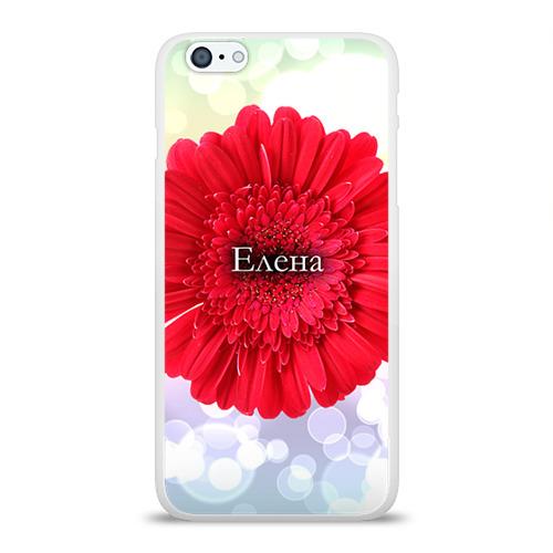 Чехол для Apple iPhone 6Plus/6SPlus силиконовый глянцевый  Фото 01, Елена