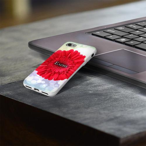 Чехол для Apple iPhone 8 силиконовый глянцевый  Фото 03, Елена
