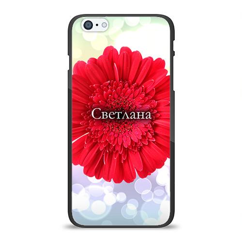 Чехол для Apple iPhone 6Plus/6SPlus силиконовый глянцевый  Фото 01, Светлана