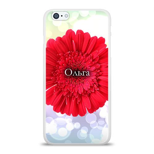 Чехол для Apple iPhone 6Plus/6SPlus силиконовый глянцевый  Фото 01, Ольга
