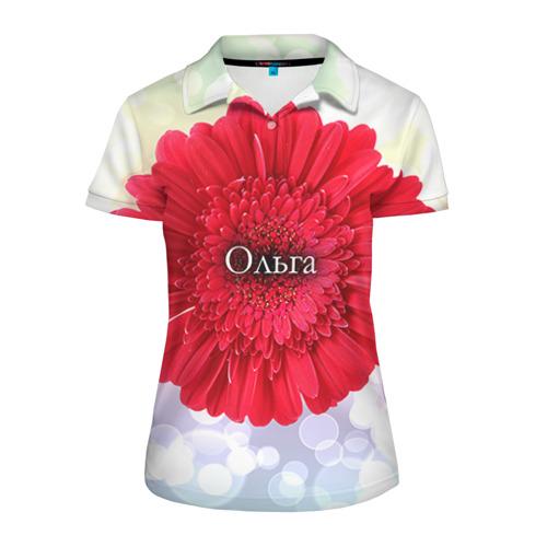 Женская рубашка поло 3D  Фото 01, Ольга