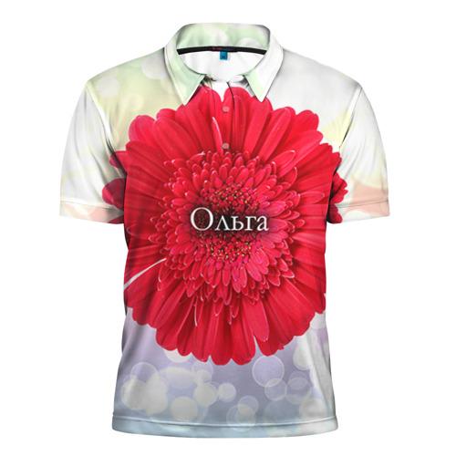 Мужская рубашка поло 3D Ольга