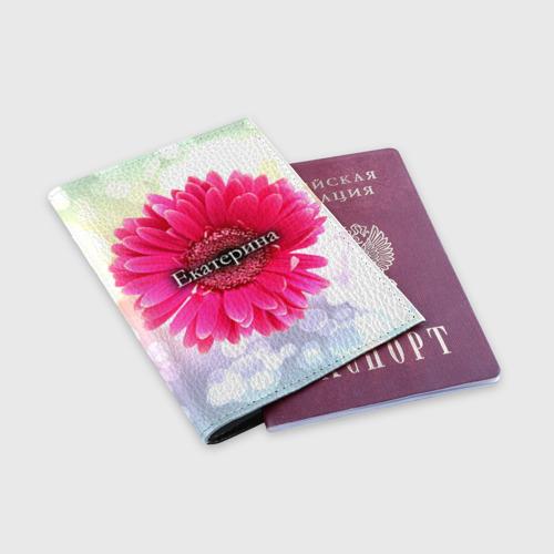 Обложка для паспорта матовая кожа  Фото 03, Екатерина