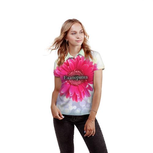Женская рубашка поло 3D  Фото 03, Екатерина