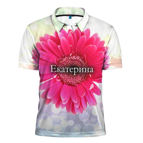 Мужская рубашка поло 3D Екатерина