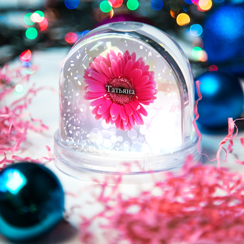 Водяной шар со снегом  Фото 03, Татьяна