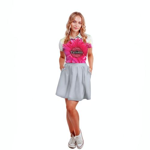 Женская рубашка поло 3D  Фото 04, Татьяна