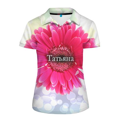 Женская рубашка поло 3D  Фото 01, Татьяна