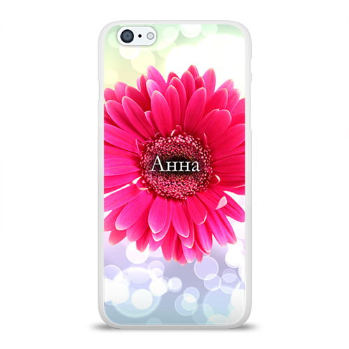 Чехол для Apple iPhone 6Plus/6SPlus силиконовый глянцевый  Фото 01, Анна