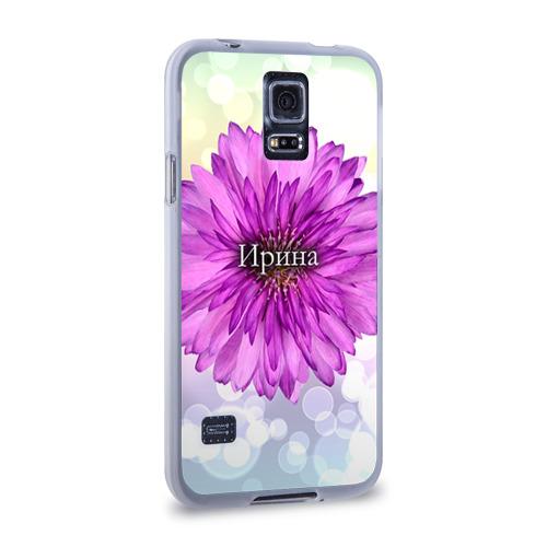 Чехол для Samsung Galaxy S5 силиконовый  Фото 02, Ирина