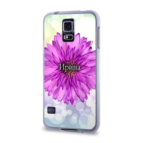 Чехол для Samsung Galaxy S5 силиконовый  Фото 03, Ирина