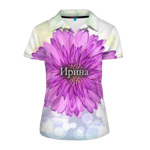 Женская рубашка поло 3D  Фото 01, Ирина