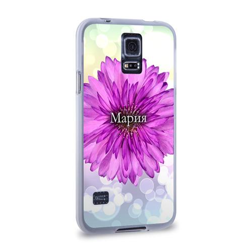 Чехол для Samsung Galaxy S5 силиконовый  Фото 02, Мария