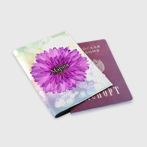 Обложка для паспорта матовая кожа  Фото 03, Мария