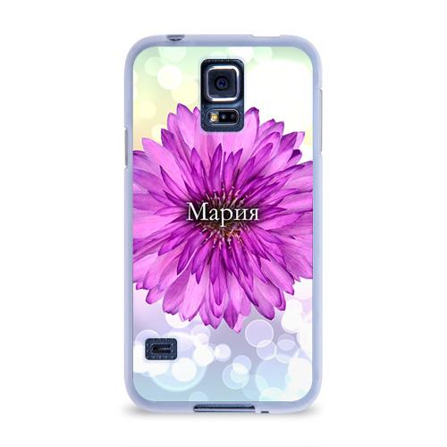 Чехол для Samsung Galaxy S5 силиконовый  Фото 01, Мария