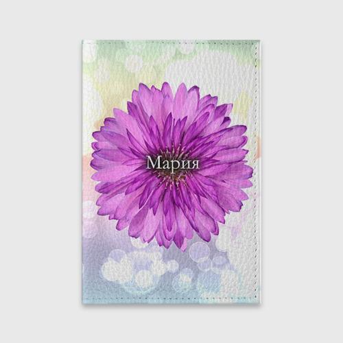 Обложка для паспорта матовая кожа  Фото 01, Мария