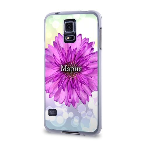 Чехол для Samsung Galaxy S5 силиконовый  Фото 03, Мария