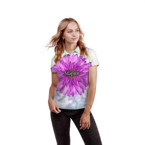 Женская рубашка поло 3D  Фото 03, Мария